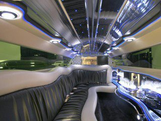 Chrysler limo interieur